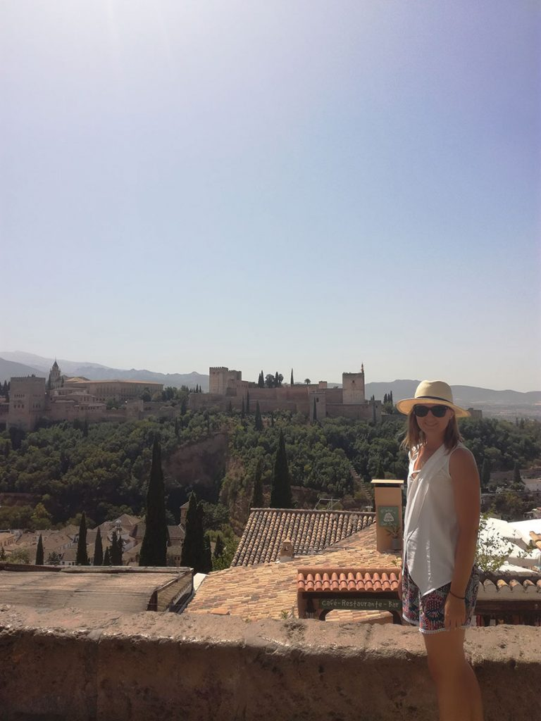 Albayzin and view of Alhambra, Granada, Spain