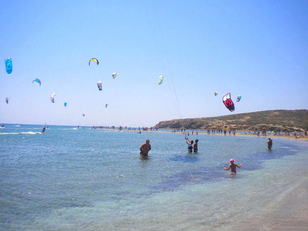 Rodi's bay of Prassonissi
