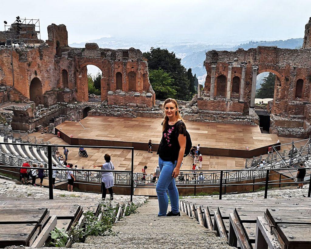 Ancient Theatre Tarmina - Sicily - Catania