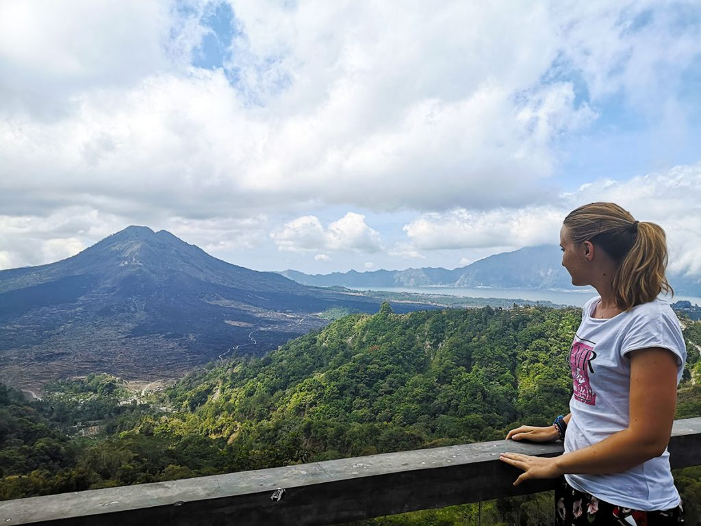Lake and Volcano Batur - Bali - Indonesia