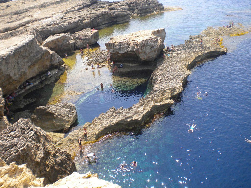 Gozo - Blue Window - Malta Island